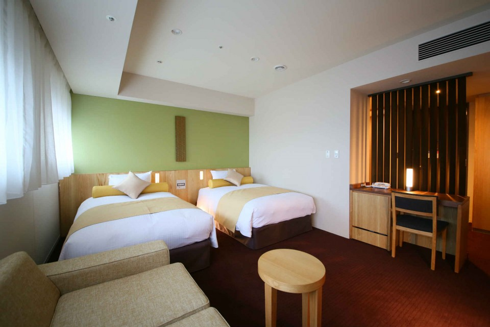 Guest Rooms - Deluxe Twin Tokyo Hotel - Gracery Shinjuku City Center