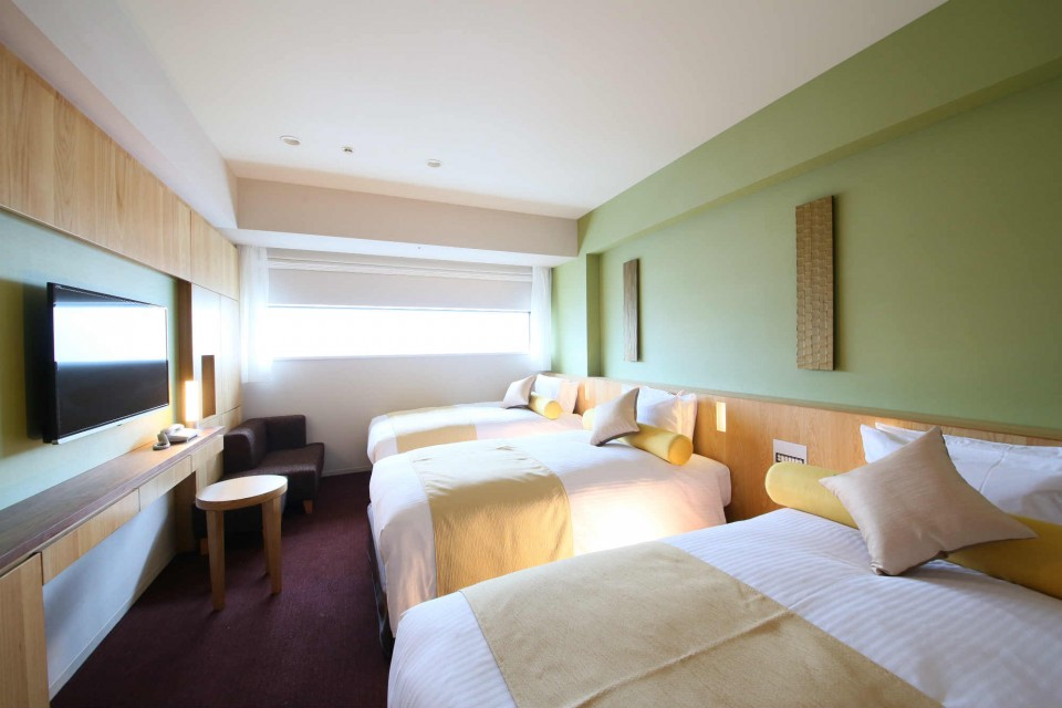 Guest Rooms - Standard Triple Tokyo Hotel - Gracery Shinjuku City ...