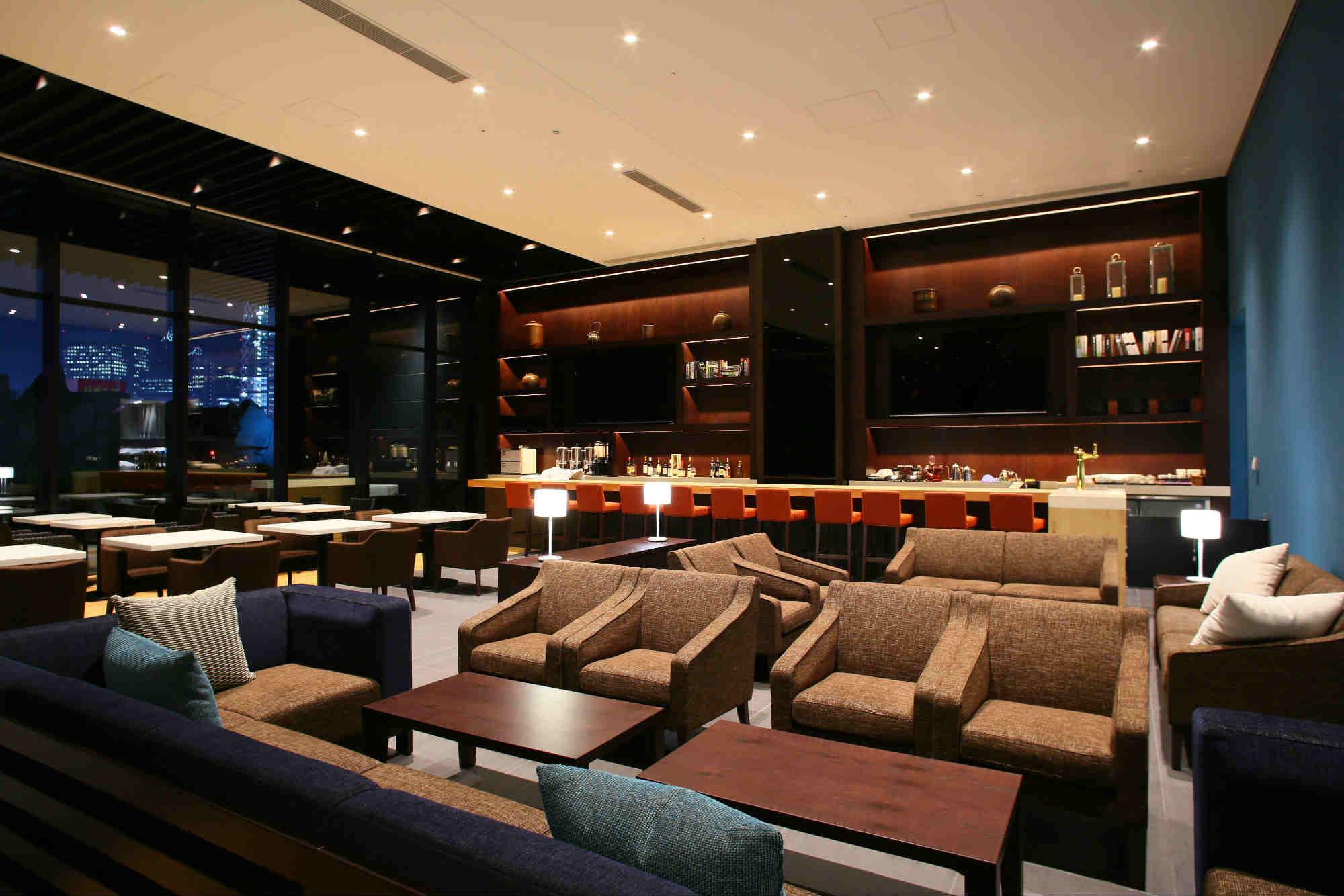 Dining Café Terrace Bonjour Tokyo Hotel Gracery Shinjuku