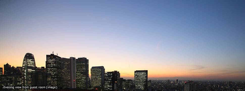 en_evening_img_Gracery Shinjuku